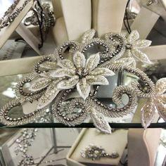 Bridal headpiece - Image via Annabel's Bridal Studio Facebook page
