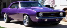 all things purple pictures - 1969 camaro Car Chevrolet, Chevrolet Camaro, Chevelle Ss, My Dream Car, Dream Cars, All Things Purple, Purple Stuff, Sweet Cars, Hot Rides
