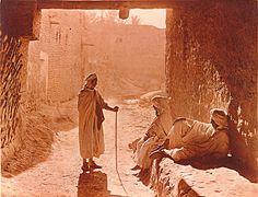 photos anciennes (biskra 1890). . algerie