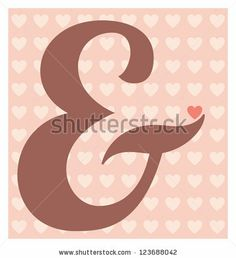 Abstract Calligraphic Valentines Design Template by Vilmos Varga, via Shutterstock