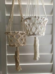 Buy on line Macrame hanging baskets by Ocean Nomad www.oceannomadaustralia.com.au