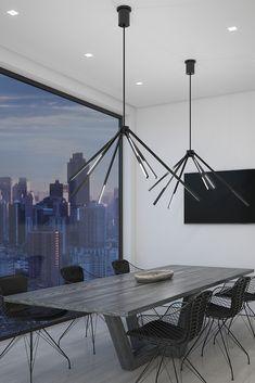 New Hone Office Lighting Ideas Chandeliers Ideas Lounge Lighting, Office Lighting, Dining Room Lighting, Home Lighting, Lighting Ideas, Lighting Stores, Modern Light Fixtures, Outdoor Light Fixtures, Modern Lamps