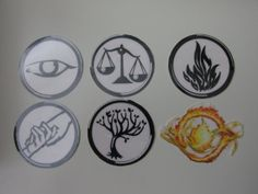 The Factions - Set of 6 Temporary Tattoos Inspired by Veronica Roth's Divergent Saga Divergent Tattoo, Divergent Party, Divergent Fandom, Divergent Insurgent Allegiant, Divergent Series, Divergent Symbols, Temporary Tattoos, Small Tattoos, Tattoo Station