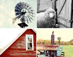 red rustic home decor rustic photography collection animal decor windmill farmhouse cottage decor rustic art tractor barn photo no 1 by eireanneilis