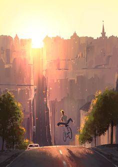 Bike Art – via: bikeplanet