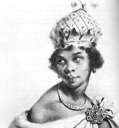 Nzinga Mbende, reine stratège, guerrière et diplomate du peuple Ovimbundu, en Angola - 1583-1623  http://histoireparlesfemmes.wordpress.com/2014/05/12/nzinga-mbende-reine-stratege-guerriere-et-diplomate/