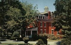 Brodbeck Hall - Hood College Hood College, Social Security Office, Frederick Maryland, Restaurant Guide, U.s. States, Parks And Recreation, Vintage Postcards, Mansions, House Styles