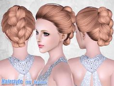 Greco-Roman Sims 3 — Hairstyle 198 by Skysims HERE