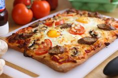 Breakfast Pizza Recipe on Yummly. @yummly #recipe