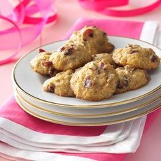Cranberry Persimmon Cookies Recipe- Recipes During the holidays, I bake double batch after double batch of these moist drop cookies. Dotted with dried cranberries and pecans, the cake-like treats never last long.
