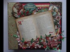 Graphic 45 A Christmas Carol mini album - YouTube