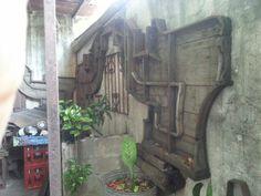 Wooden henequen machinary molds