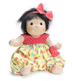 Little Rubens Party Collection Little Meiya Doll. A cute and soft baby doll