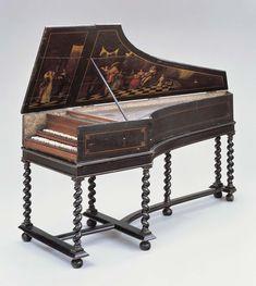 Harpsichord  1667  Object Place: Paris, France
