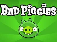 Love those piggies! The Pigs are coming! Rovio has announced the its next Angry Birds title, Bad Piggies, on Tuesday. Unlike the traditional Angry Birds franchise, Bad Piggies looks like it will focus on the pigs -- Angry Birds, All Games, Free Games, Geeks, Chrome Apps, Ipad, Latest Games, Game Logo, News Games