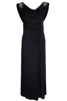 RAXEVSKY MILENA Black Maxi Dress   Price: $ 170.37