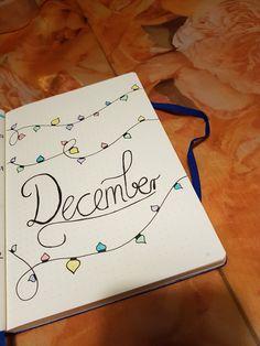 Bullet Journals, Bujo, Journaling, Notebook, Organization, Diy, Mantle, December, To Draw