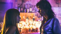 Dianna Agron and Paz de la Huerta in Bare, directed by Natalia Leite. FilmDoo review: profoundly absorbent to the spontaneous pleasures and free-spirited logic of the nocturnal mind, to the point that daytime activity is virtually background noise