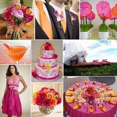 Fun feel and gorgeous colors.  Fushia and orange are supposed to be big this season.