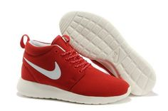 finest selection 150d8 545da Buy Wholesale Womens Nike Roshe Run Mid Red White Shoes Online Outlet from  Reliable Wholesale Womens Nike Roshe Run Mid Red White Shoes Online Outlet  ...