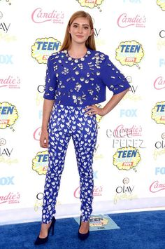 Teen Choice Awards 2014: Willow Shields walks the red carpet.