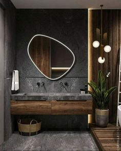 scandinavian interior design Badezimmer Inspiration // Cartelle Design All you need to know about Wh Bathroom Design Luxury, Home Interior Design, Modern Small Bathroom Design, Washroom Design, Interior Colors, Luxury Interior, Modern Furniture Design, Modern Home Interior, Bistro Interior