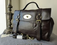 Mulberry Oversized Alexa in Chocolate Buffalo Leather (ref 2) - SOLD b8eb73fab53b1