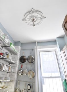 James' Beautifully Handcrafted Apartment in Clinton Hill - hang the pots!