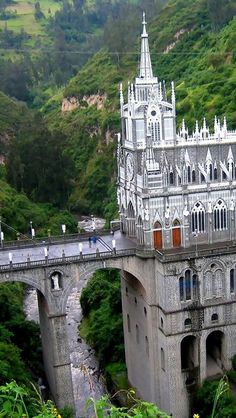 Las Lajas Sanctuary, Guaitara River, Colombia