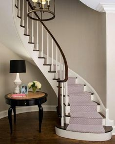 The house we found in the west hills had a stair case like this. All other homes will have to measure up!