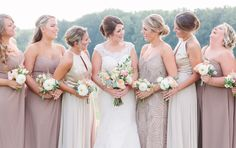 Romantic Fall Wedding at Belmont Manor Belmont Manor, Fall Wedding, Wedding Ceremony, Formal Gardens, Canopy Tent, Bridesmaid Dresses, Wedding Dresses, Best Day Ever, Brittany
