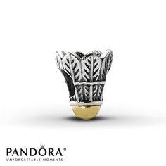 Pandora Badminton Birdie Charm