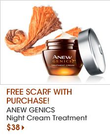 Anew Genics, Avon's latest breakthrough technology in skin care.  youravon.com/ursulabrown
