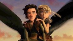 The smolder. Hiccup looks pretty confident. lol