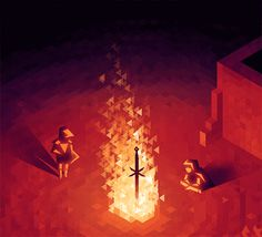 etall: Part of an animated commission for VaatiVidya! The fire is made up of randomly walking triangles, but it's a bit hard to see in this. Dark Souls Gifts, Dark Souls Art, Pixel Art Gif, 8 Bits, Photo Awards, Soul Art, Travel Channel, Gothic Architecture, Travel Memories
