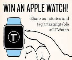 Time is ticking, so hit up your social channels now! @tastingtable #TTWatch
