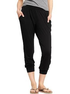 Harem-Style Cropped Pants | Old Navy