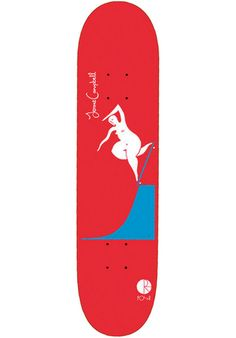 The #Polar #Skate Co #Campbell BS #Noseblunt #deck is the pro-model of Jerome Campbell. It comes with classic Polar artwork on the bottom, and it is made from 7 plies of sturdy maple. #titus