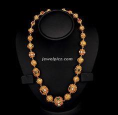 antique-gundla-haram-vbj-jewellery.jpg (1320×1291)
