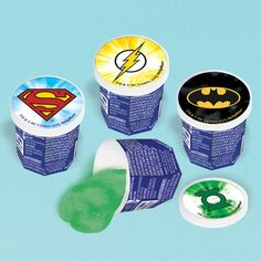 Check out Justice League Ooze Putty Favor (Each) - Cheap Birthday Party Supplies…
