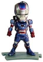 Iron Man con luz Personaje Iron man 2 con luces en los ojos, el pecho y en la plataforma en su caja original.  ENVÍO GRATIS en capital federal.