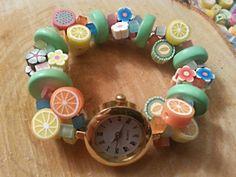 Tutti Fruitti Watch Bracelet!!! Bring on the Summer!