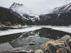 Snowy mountains, Colorado | nathanarmes | VSCO Grid