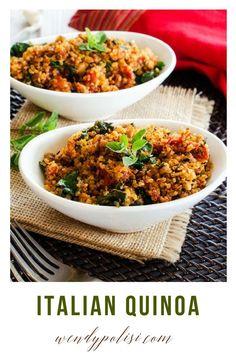 Italian Quinoa via @wendypolisi