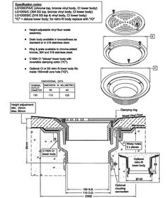 1000 Images About Floor Drain Details On Pinterest