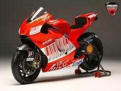 Ducati Desmosedici GP9.