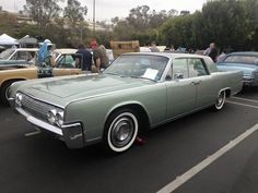 1964 Lincoln Continental four-door sedan, in Silver Green, this one owned by Bryan Burns