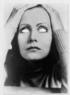 Douglas Gordon. 100 Blind Star Series: Mirror Blind Greta, 2002