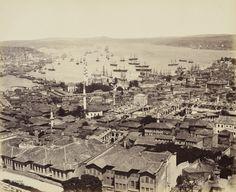 Beyazıt Kulesi'nden Eminönü Yönü Francis Bedford / 24 Mayıs 1862