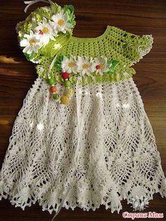 394785_417542068321702_1077586195_n.jpg (360×480)Vestidinhos em croche  do Croche pro Bebe de croche da Anjinha